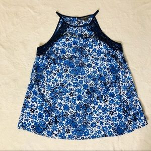 NWT Pea in the Pod Floral Maternity Tank Sz M